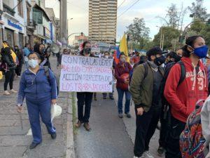 Movilización en Quito: Se avizora el regreso de las protestas en Octubre