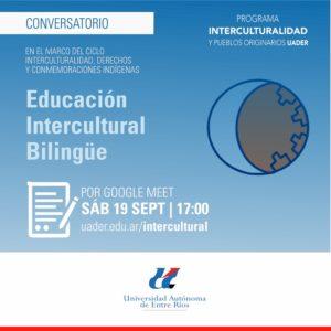 Invitación a Conversatorio sobre «Educación Intercultural Bilingüe»