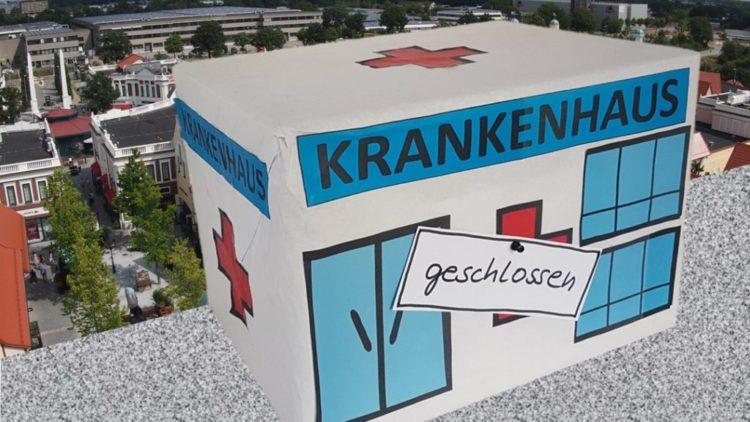Protest gegen Klinikschließung: Wenckebach muss bleiben!