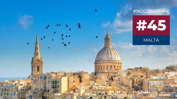 Malte est le 45e État à ratifier le Traité sur l'interdiction des armes nucléaires (TIAN)