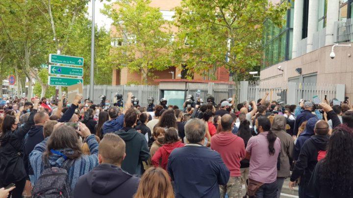 Madrid se moviliza contra las medidas de confinamiento que discriminan a los barrios más pobres