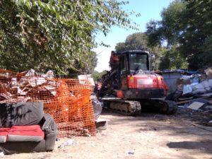La demolizione del campo di via Germagnano dal punto di vista degli sbaraccati – intervista a Jean