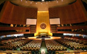 Assemblea Generale dell'Onu, una nota stonata