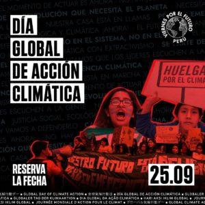 Peru. 25 settembre giornata globale di azione per il clima