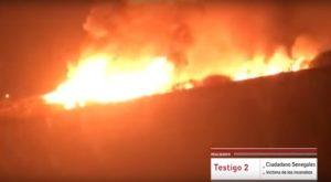 'Arde Huelva', reportaje sobre los incendios y las condiciones inhumanas de los trabajadores del campo onubense (España)