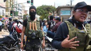Elezioni in Bolivia:  violenze paramilitari di destra contro militanti del MAS