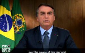 Bolsonaro all'ONU: frottole e panzane