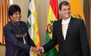 Correa e Morales perdono diritti politici: le sentenze dei tribunali di Ecuador e Bolivia disabilitano le loro candidature