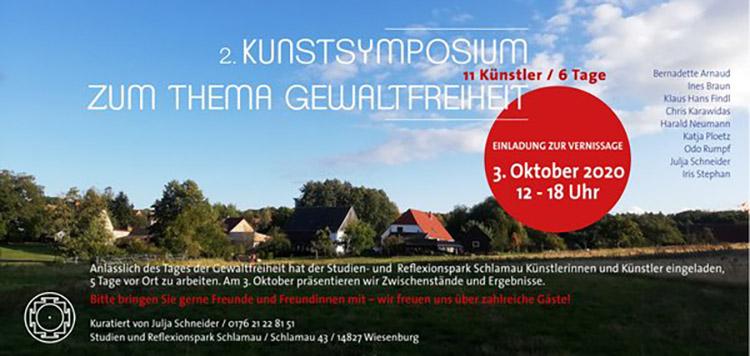 2. Kunstsymposium zum Thema Gewaltfreiheit