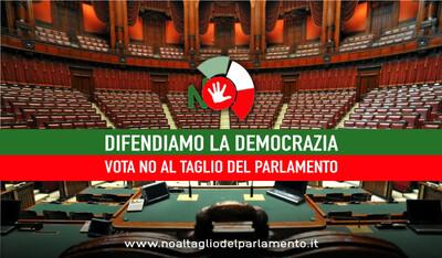 Taglio dei parlamentari = Taglio di democrazia