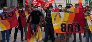 FLAICA|CUB Pa: Salario\Sicurezza\Salute. #25\9 Sit-In dei Lavoratori della ristorazione ospedaliera