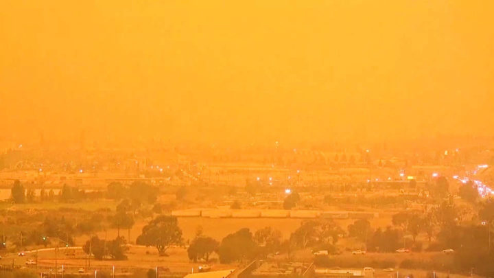 California: The Center of the White-West is Burning