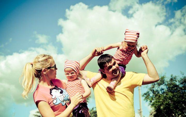 Lo stereotipo della famiglia perfetta