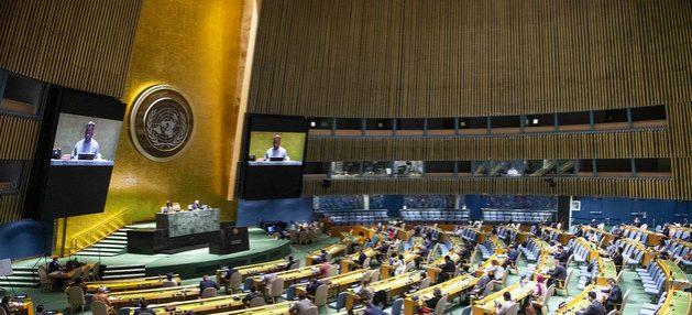 Acceso a las vacunas y cese al fuego mundial, prioridades de Asamblea General de la ONU