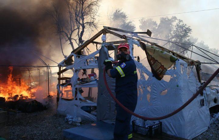 Fire destroys Moria refugee camp: another tragic wake-up call for the EU's asylum policy