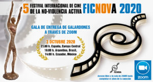 La 5ª entrega de galardones de FICNOVA se celebrará de forma virtual