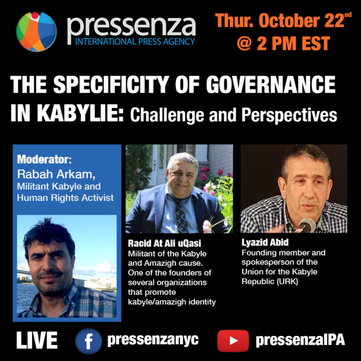 THE SPECIFICITY OF GOVERNANCE IN KABYLIE: Challenge and Perspectives