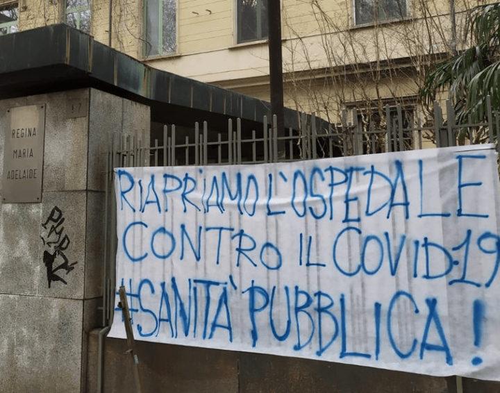 Torino: raccolta firme per riaprire l'Ospedale Maria Adelaide