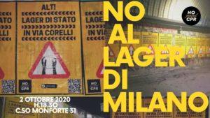 NO al lager di Milano