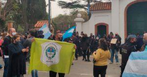 Argentina: Organizaciones humanistas repudian protesta policial armada