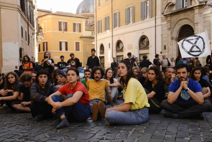 Italian Extinction Rebellion proclaims the 2020 insurrection