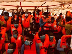 Assegnata nave quarantena ai naufraghi a bordo della Open Arms