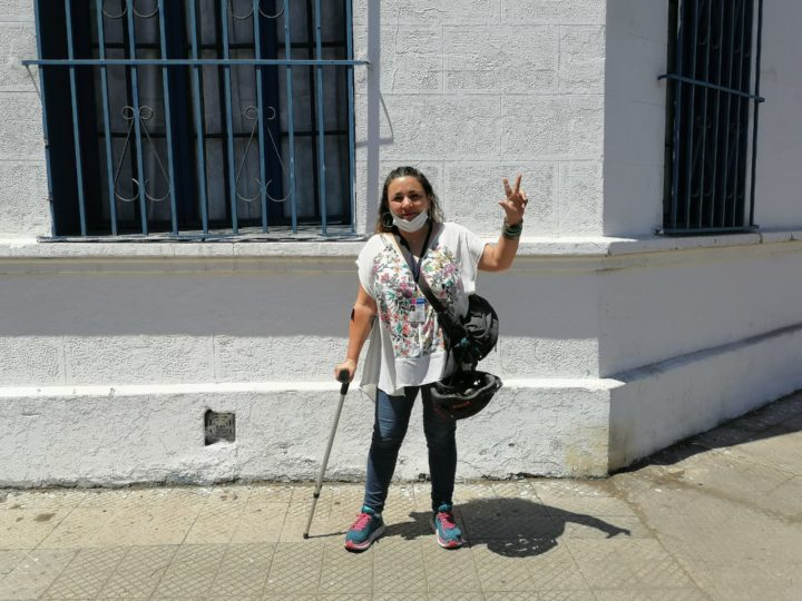 Claudia Aranda está libre ¡Gracias a muchos, a muchas que lo hicieron posible!