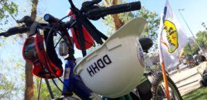 Masiva cicletada en Santiago por opción «Apruebo» en Plebiscito