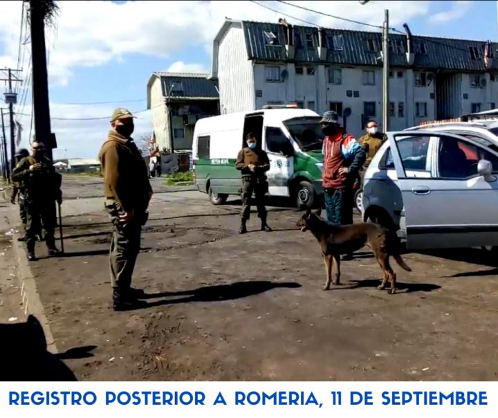 Municipio y carabineros contra organización popular en San Pedro de La Paz, Concepción, Chile