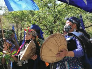 Ngellipun y manifestaciones por la dignidad mapuche