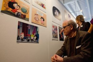 Artists from around the world bid farewell to the creator of Mafalda