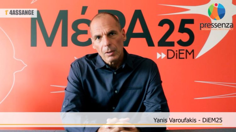 #FREEASSANGE: Video Testimony from Yanis Varoufakis