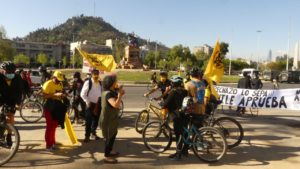 [Chile] Cicletada No+AFP por Apruebo una nueva Constitución