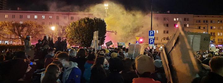 Polen: Die Revolution ist eine Frau!