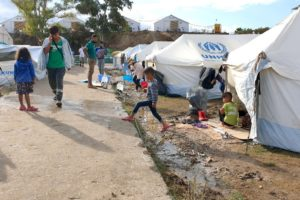 A month after Moria fires, UNHCR warns of worsening conditions ahead of winter