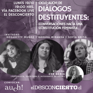 Autoras chilenas inician ciclo de conversaciones sobre principios feministas para futura Constitución