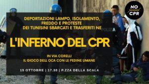 L'inferno del CPR – Il gioco dell'oca con le pedine umane