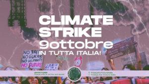 9 ottobre: sciopero nazionale per il clima in tutte le città italiane