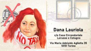 Dana Lauriola: a Torino il presidio in solidarietà per la militante del movimento NoTav e tutt* le vittime della repressione