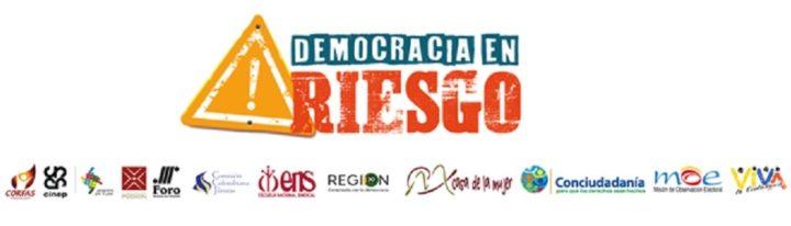 El 9 y 10 de septiembre de 2020 se afectó gravemente la Democracia