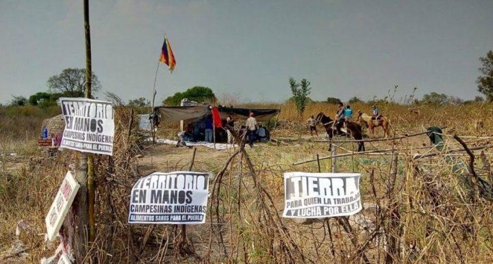 Palpalá (Argentina): reprimieron a una comunidad campesina que resistió un desalojo