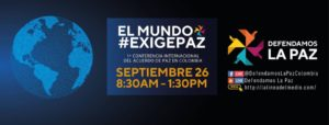 Primera Conferencia Internacional sobre Acuerdos de Paz en Colombia