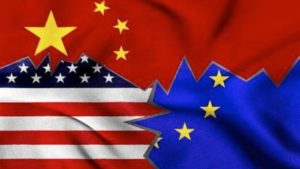 Europe, the US and China