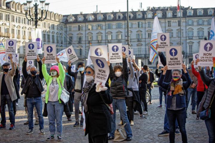 Omotransfobia: il Coordinamento Torino Pride in piazza per la legge