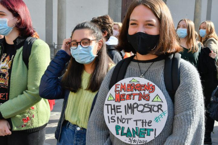 Lo sciopero globale del clima a Firenze: le foto della manifestazione