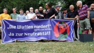 """Kundgebung am 26.10. in Wien: """"Neutralität verbindet, Militärblöcke spalten!"""""""