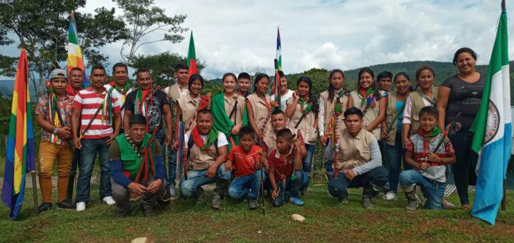Guardia Indígena del Cauca, Colombia
