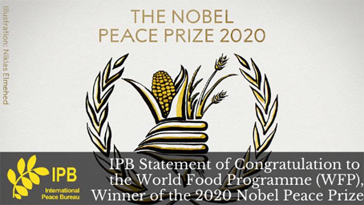 IPB gratuliert dem Welternährungsprogramm zum Friedensnobelpreis