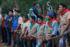 La Garde indigène du Cauca (Colombie) reçoit le prix international des droits humains