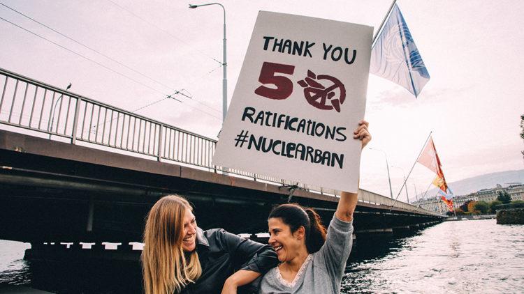L'humanité peut se réjouir : les armes nucléaires seront interdites